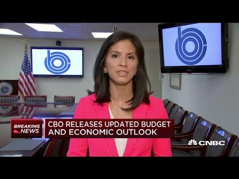 CBO raises deficit forecast, growth outlook