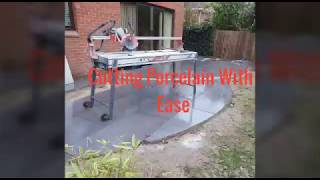 How To Cut Porcelain Paving