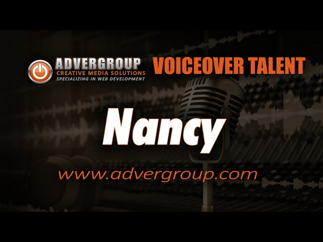 NANCY Female VOICEOV ..