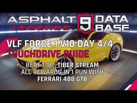 VLF Force Day 4/4 Tiber Stream Touchdrive Guide