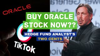 BUY ORACLE STOCK FOR TIKTOK? Oracle stock ($ORCL) analysis after it wins to
