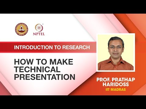 How to make Technical presentation