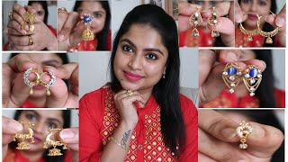 My Gold Earrings Collection Part-1 / Latest Gold Jewellery Collection / June2020