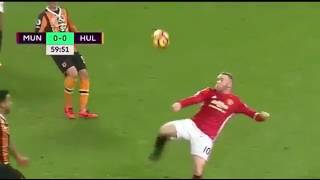 Manchester United Vs Hull City 00  Highlights 01/02/2017
