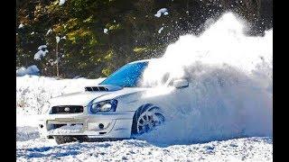 SUBARU WRX STI - SNOW Driving & Drifting