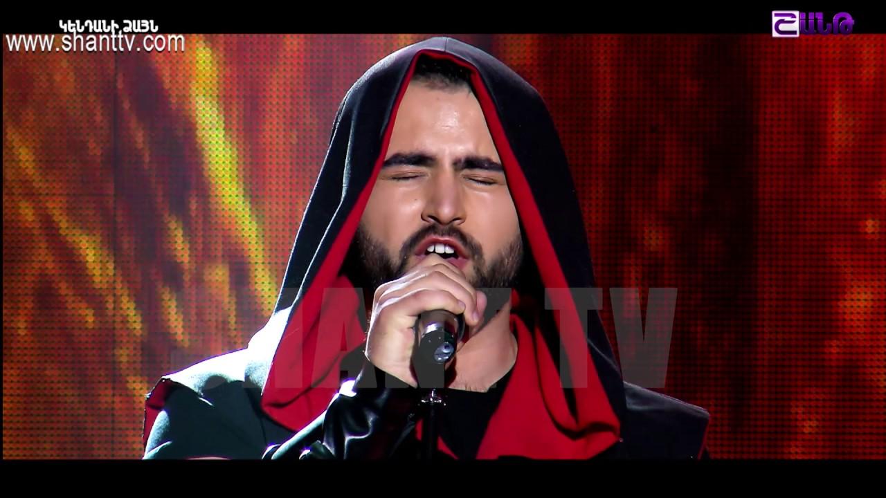 X-Factor4 Armenia-Gala Show 2-Abraham Khublaryan-Komitas-Horovel 26.02.2017