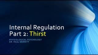 Internal Regulation: Thirst