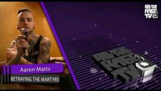AARON MATTS (Betraying The Martyrs) | Tattoo interview