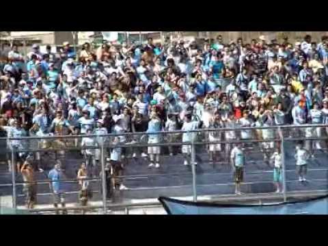"""La fiel del norte - ya me voy para la cancha , Iquique"" Barra: Furia Celeste • Club: Deportes Iquique"