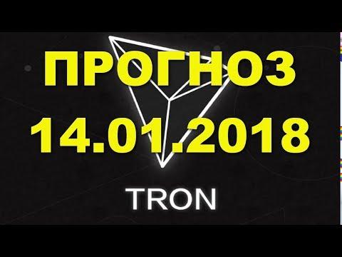 TRX/USD — TRON прогноз цены / график цены на 14.01.2018 / 14 января 2018 года