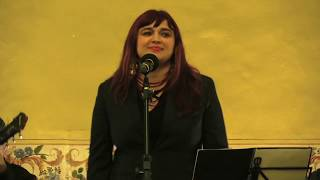 Angélica Rizzi faz show no Projeto Sarau no Solar