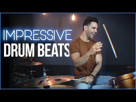 3 IMPRESSIVE Drum Beats (Try These!) - Drum Lesson | Drum Beats Online