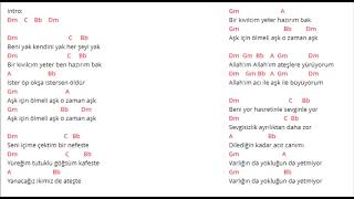 Duman - Her Şeyi Yak - Akor (Kolay Ve Orjinal Ton)