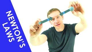 Newton's Laws Explained - A Level Physics