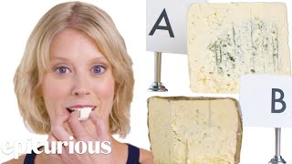 Cheese Expert Guesses Cheap vs Expensive Cheeses | Price Points | Epicurious - Video Youtube