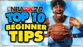 NBA 2K20 Top 10 Beginner Tips- Get Wins ASAP!