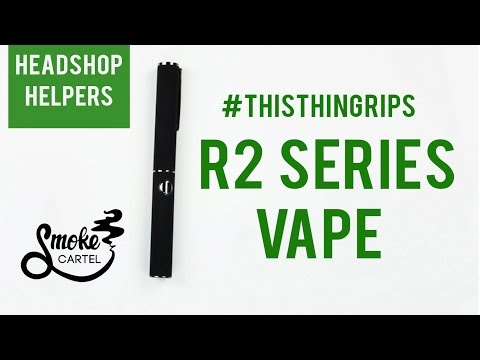 This Thing Rips! R2 Series Vape Pen Kit on Youtube