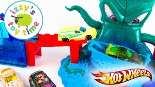 Cars  | Hot Wheels Color Shifters OctoBattle Playset | Fun Toy Cars