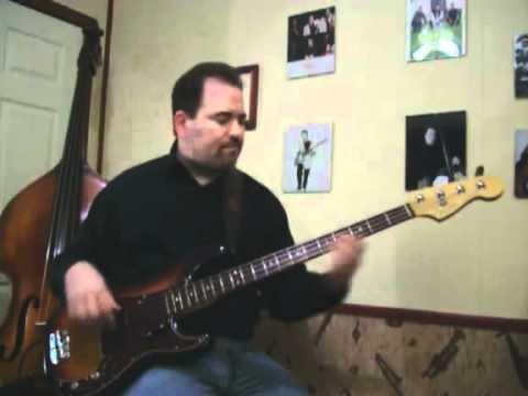 Fender Precision Bass solo - Turtle Bay