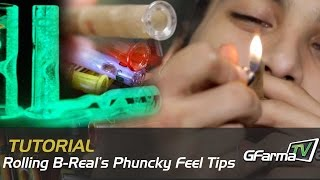 How to Roll a Joint Using B-Real\\\\\\\'s Phuncky Feel Tips