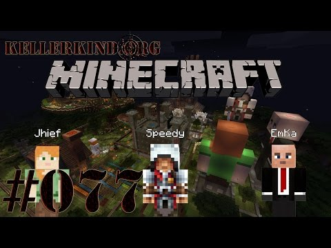 Kellerkind Minecraft SMP [HD] #077 – Wir müssen Hütten bauen ★ Let's Play Minecraft