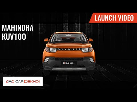 Mahindra KUV100 | Launch Video | CarDekho.com