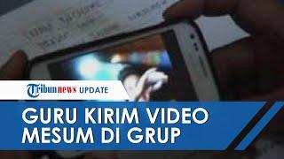 Heboh, Guru di Bali Kirim Video Mesum di Grup WA Kelas saat Belajar Daring, Akui Salah Pencet