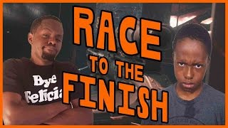 HILARIOUS RACE TO THE FINISH! - Black Ops 3 Gameplay ft. Trent