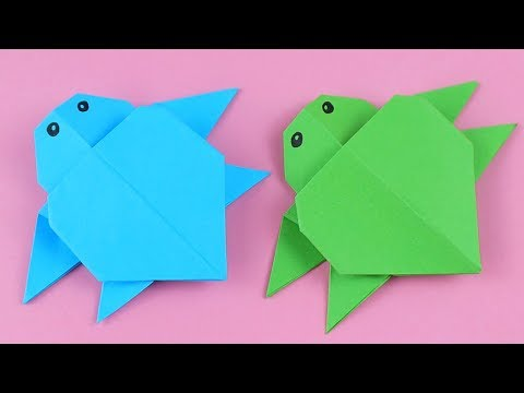 Origami Animals Tutorial: Origami Turtle - YouTube | 360x480