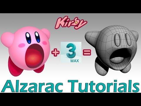 3ds max tutorial – Modelando a Kirby (Spanish Audio)