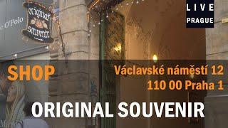 Shop Prague - Original Suovenir - Václavské náměstí 12   Praha 1 - Tipical Prague eggs engraving