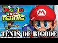 Mario Power Tennis wii T nis De Bigode