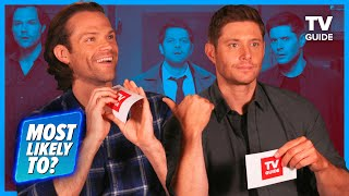 Supernatural Cast Plays Most Likely To | Jared Padalecki, Jensen Ackles