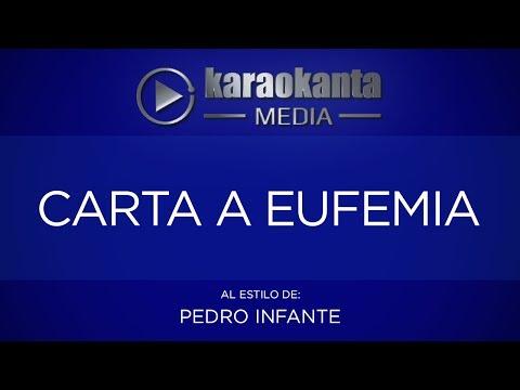 Carta a Eufemia Pedro Infante