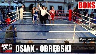 WCB: Łukasz Osiak vs Konrad Obrębski - Finał Jackionet Boxing Show