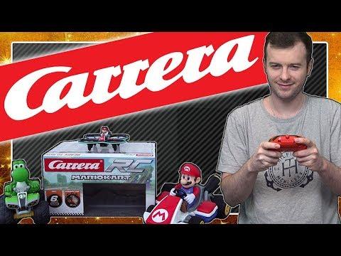 Real Life MARIO KART und MARIO DROHNE von CARRERA RC! Unboxing und Test in 4K