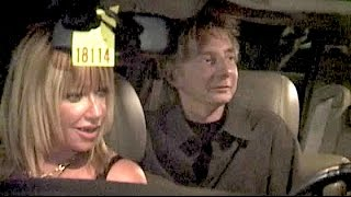 BARRY MANILOW and SUZANNE SOMERS get stuck when husband ALAN HAMEL loses car keys in Malibu