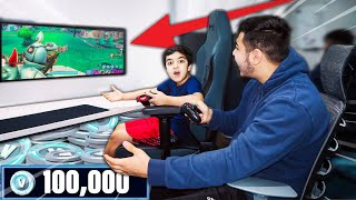 Scrubzah - IF MY LITTLE BROTHER GETS A VICTORY IN FORTNITE I WILL LET HIM USE MY CREDIT CARD AND ...