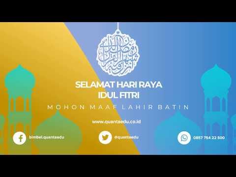 Bimbel di Villa Nusa Indah | Bimbel Quanta Edu | Terimakasih Pelanggan | Selamat Idulfitri 1 Syawal 1439H