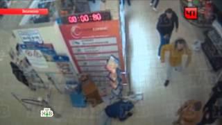 Схватка продавцов наркотиков сактивистами вмосковском магазине попала на видео
