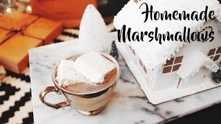 Homemade Marshmallows Recipe | OliviaMakeupChannel