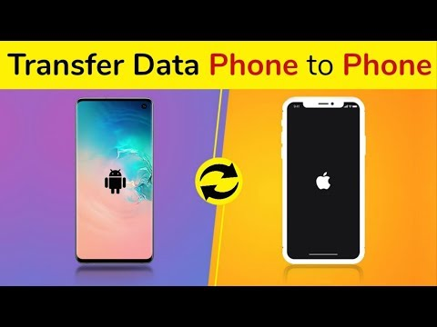 How To Transfer Data From Old Phone To New Phone, Android to iPhone, iPhone to Android