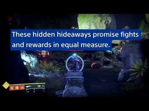 Destiny 2 - Vidéo sur l'exploration des Secteurs Oubliés de Destiny 2