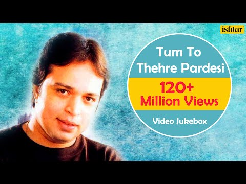 Download Tum To Thehre Pardesi | Altaf Raja | Best Hindi Album Songs | Video Jukebox - Romantic Hits HD Mp4 3GP Video and MP3