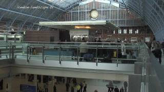 preview picture of video 'St. Pancras International Railway Station (HD1080)'