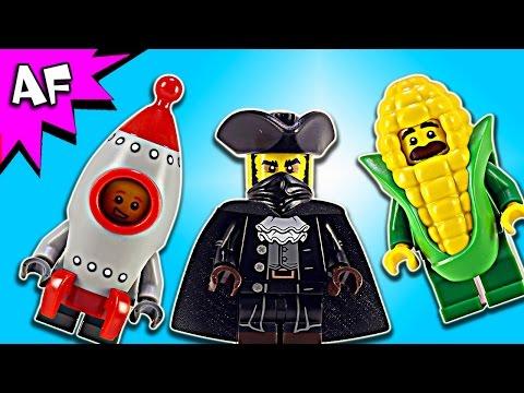 Vidéo LEGO Minifigures 71018 : Série 17