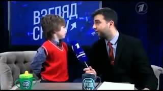 Ах, уж эти детки)) Взгляд снизу, Саша Булатов)) Потрясающий ребенок!!!