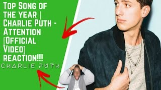 Top Song of the year | Charlie Puth - Attention [Official Video] reaction!!!