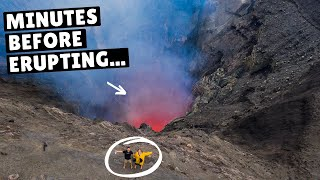 WE CLIMBED AN ACTIVE VOLCANO (and it erupted)