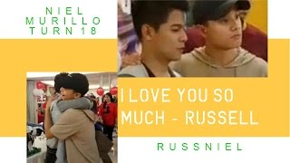 "HBD Niel Murillo!! ""We Got CLOSER & Became BUDDIES"" #RUSSNIEL"